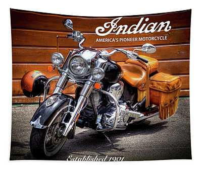 The Indian Motorcycle Tapestry