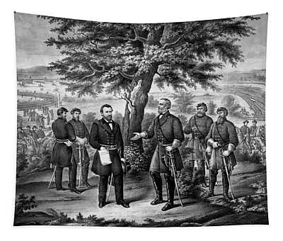 The Surrender Of General Lee Tapestry