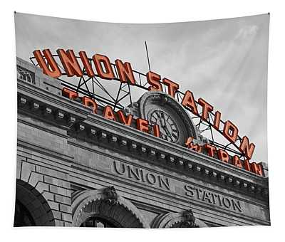 Union Station - Denver  Tapestry