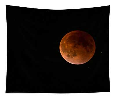 2015 Blood Harvest Supermoon Eclipse Tapestry