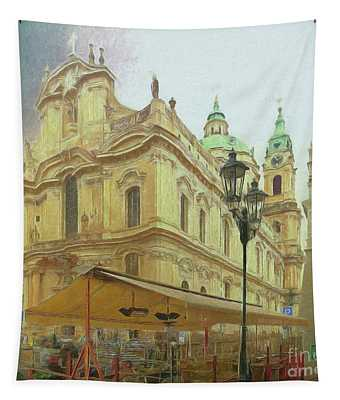 2nd Work Of St. Nicholas Church - Old Town Prague Tapestry