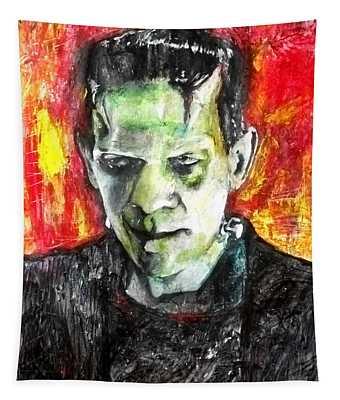 Boris Karloff - Frankenstein Tapestry