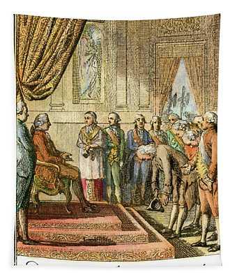Franklin At Versailles Tapestry
