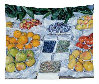 Fruit Displayed On A Stand Tapestry