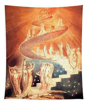 Jacobs Ladder Tapestry