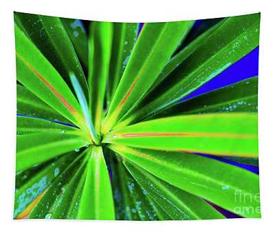 Plants And Flowers In Hawaii 547 C Tapestry