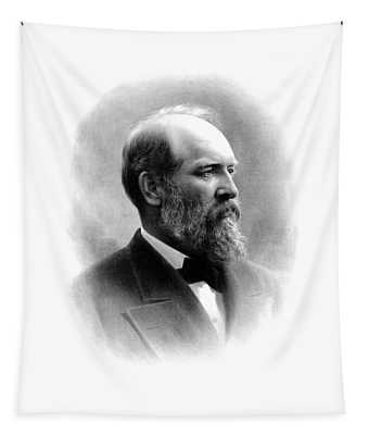 President James Garfield Tapestry