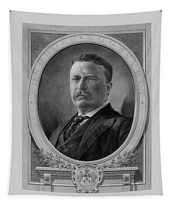 President Theodore Roosevelt Tapestry