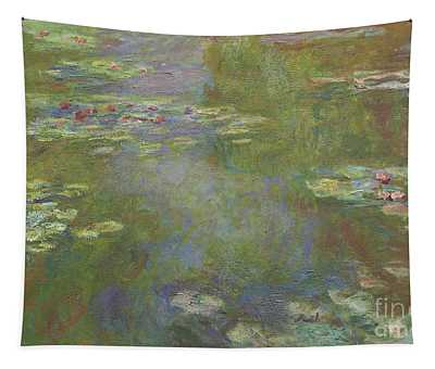 Water Lily Pond Tapestry