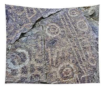 3,000 Year Old Petroglyphs Argentina Tapestry