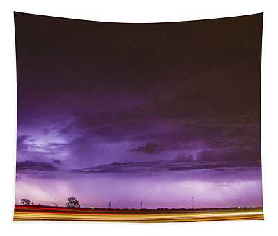 6th Storm Chase 2015 Tapestry