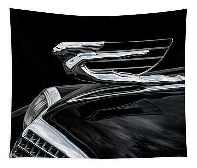 37 Cadillac Hood Angel Tapestry