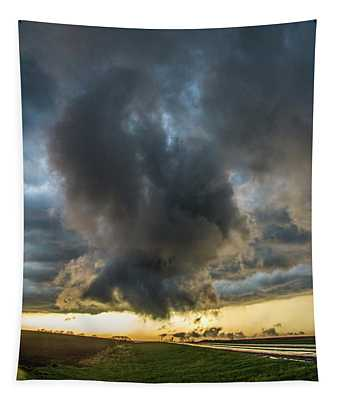 3rd Storm Chase Of 2018 050 Tapestry