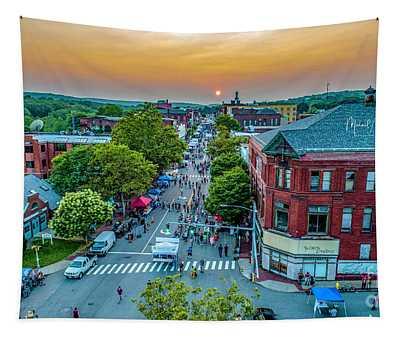 3rd Thursday Sunset Tapestry