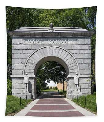 Camp Randall Memorial Arch - Madison Tapestry