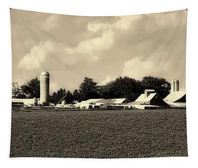 Iowa Farmstead Tapestry