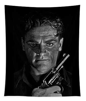 James Cagney - A Study Tapestry