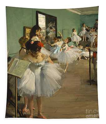 The Dance Class Tapestry