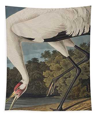 Whooping Crane Tapestry