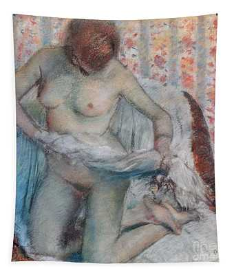 After The Bath Tapestry