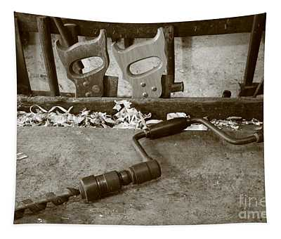 Carpentry Tools Tapestry