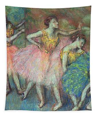 Four Dancers Tapestry