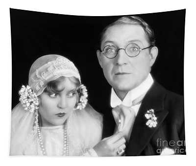 Silent Film Still: Wedding Tapestry