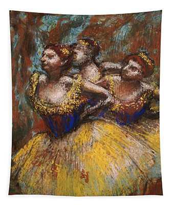 Three Dancers Tapestry