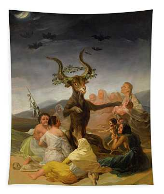Witches Sabbath Tapestry