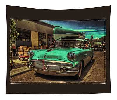 57 Buick - Just Coolin' It Tapestry