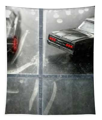 64 Lincoln Continental And Chevy Impala Tapestry