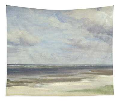 A Beach On The Baltic Sea At Laboe Tapestry