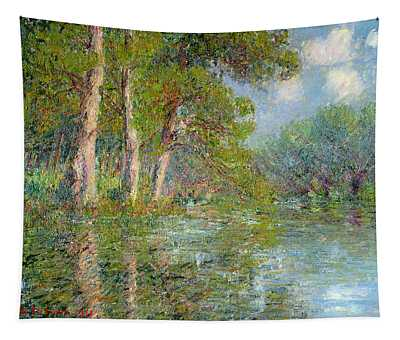 A Bend In The Eure Tapestry