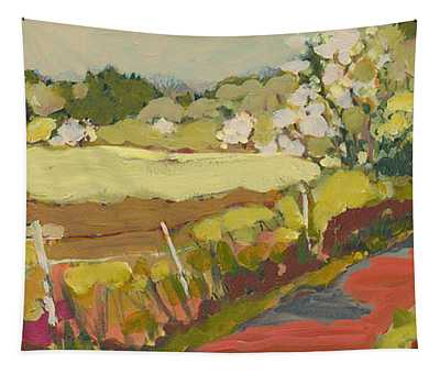 A Bend In The Road Tapestry