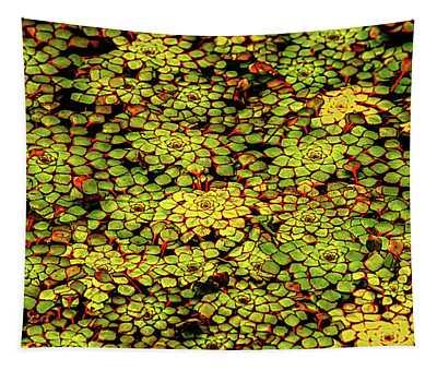 A Botanical Mosaic Tapestry