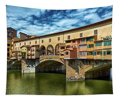 A Closer Look To Ponte Vecchio Tapestry