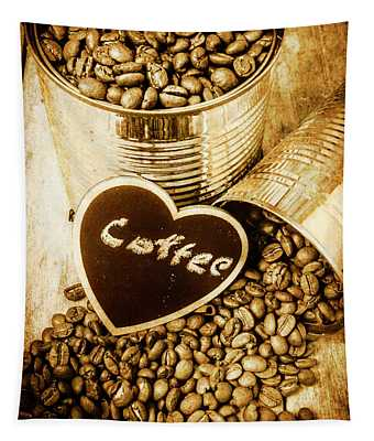 A Coffeehouse Romance Tapestry