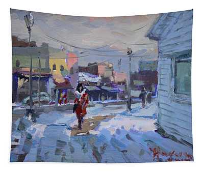 A Cold Afternoon In Tonawanda Tapestry