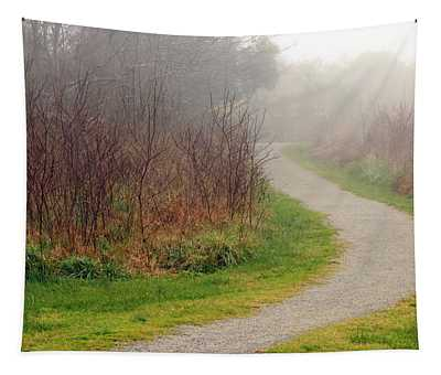 A Foggy Path Tapestry