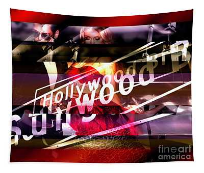 A Hollywood Night Tapestry