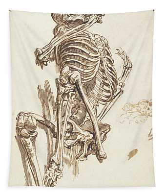A Human Skeleton Tapestry
