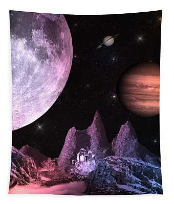 A Journey In Space Tapestry