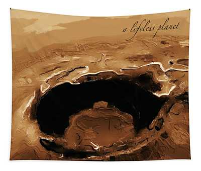 A Lifeless Planet Brown Tapestry