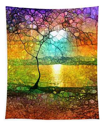 A Light Like Love Tapestry