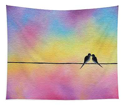 A Love Like Ours Tapestry