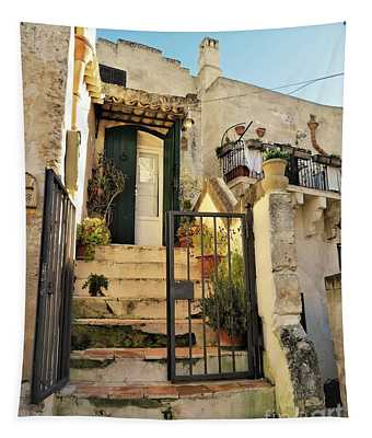 A Matera Stone Home Tapestry