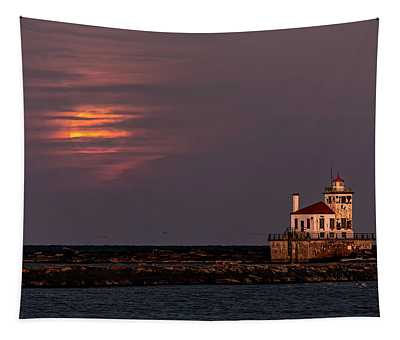 A Moonsetting Sunrise Tapestry