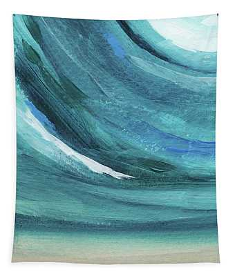 A New Start- Art By Linda Woods Tapestry