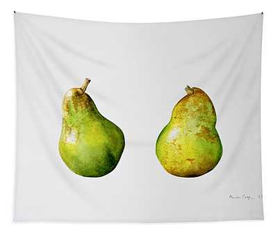 A Pair Of Pears Tapestry