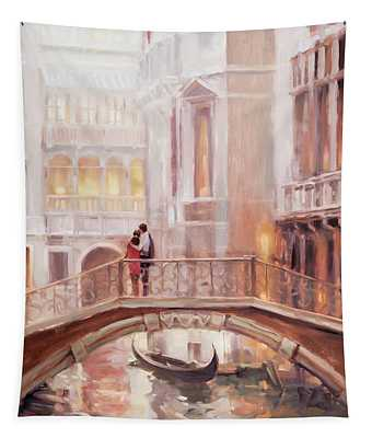A Perfect Afternoon In Venice Tapestry